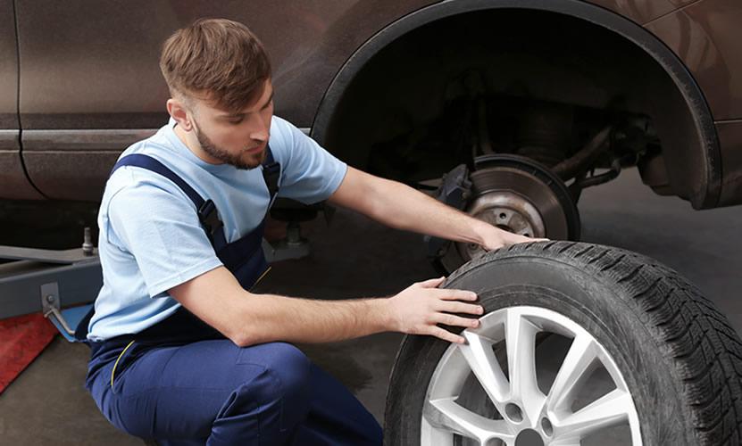 ¿Cuáles son las partes de un neumático?