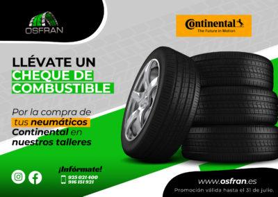 Llévate un cheque de combustible GRATIS gracias a Talleres Osfran