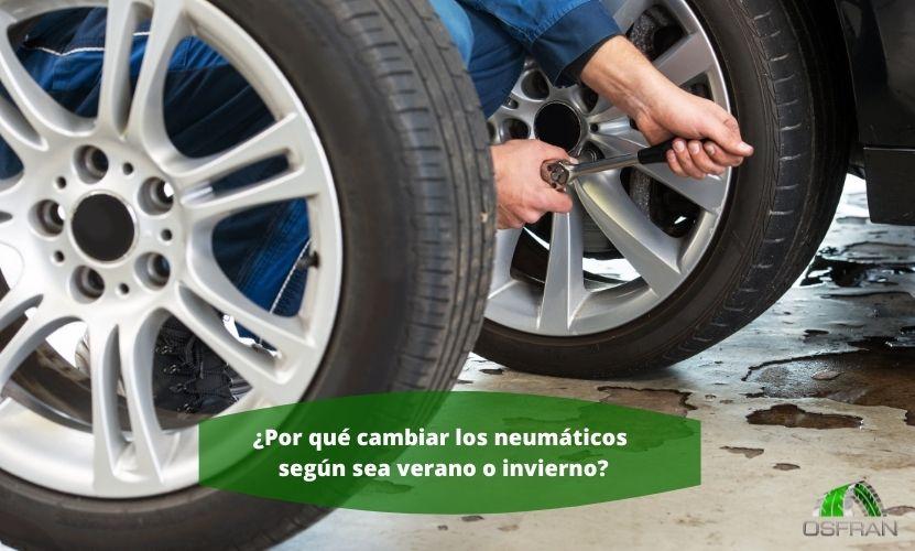 ¿Por qué cambiar los neumáticos según sea verano o invierno?
